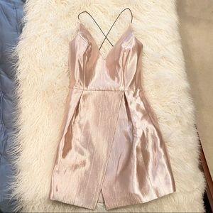 TOPSHOP shimmer dress - size 4